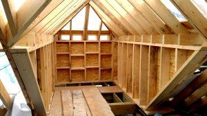 Pach bouw timmerwerk, timmerwerk, houten huis,