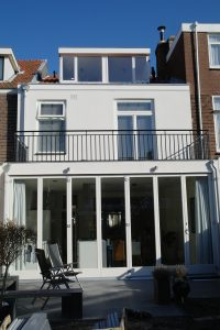 Pach bouw, pachbouw, pach bouw bv, Modern huis, aannemer in amstelveen, Harmonica deur,